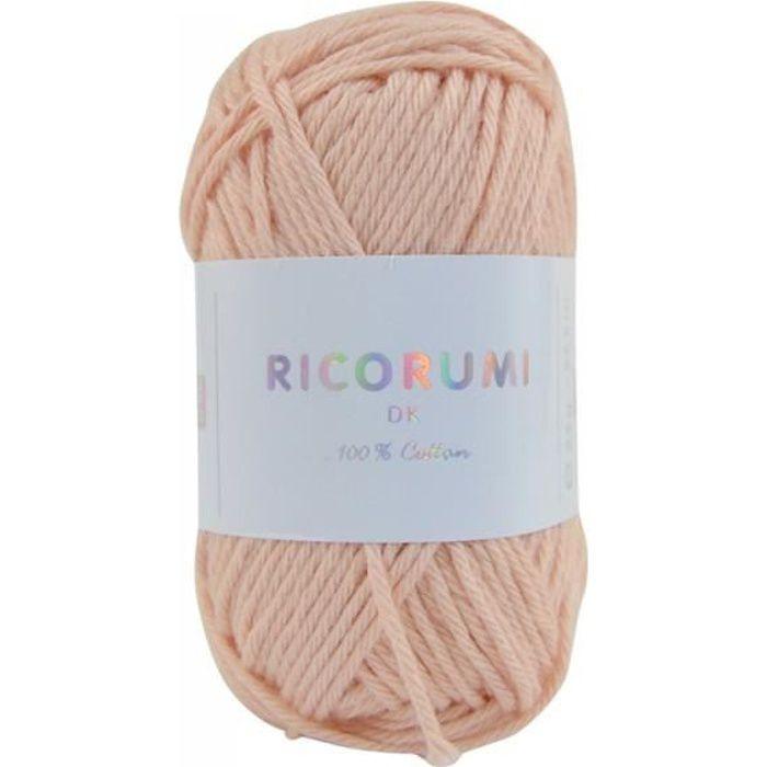 Coton RICORUMI pour Amigurumi, mini pelote 25g - 23 Nude
