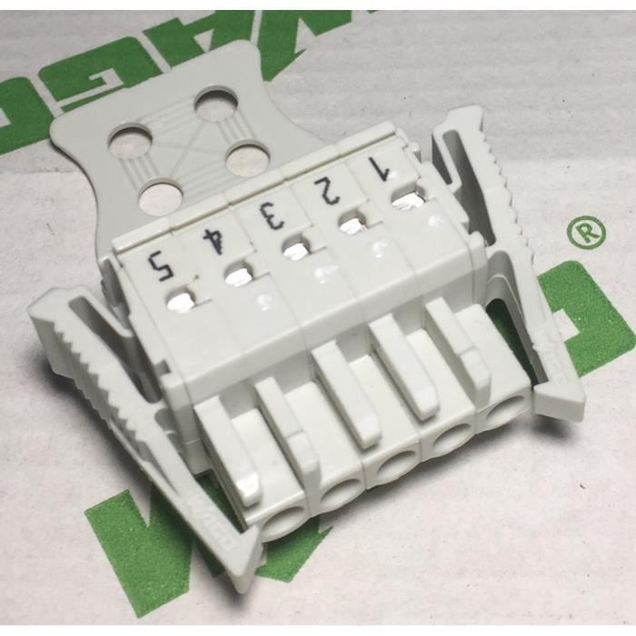 Wago 721-2105-037-047 Connecteur femelle - 5 pôles - Entraxe des contacts: 5mm