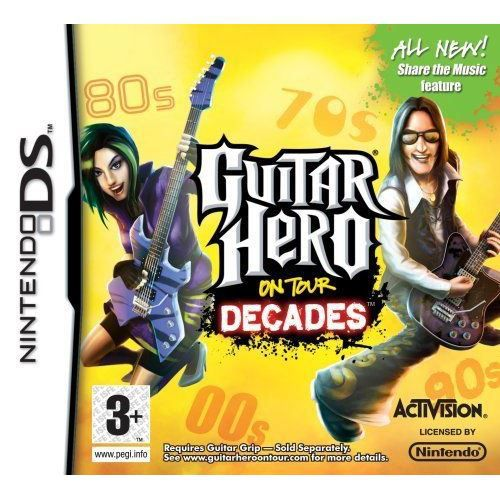 JEUX DS Guitar Hero On Tour: Decades - Game Only Ninten…