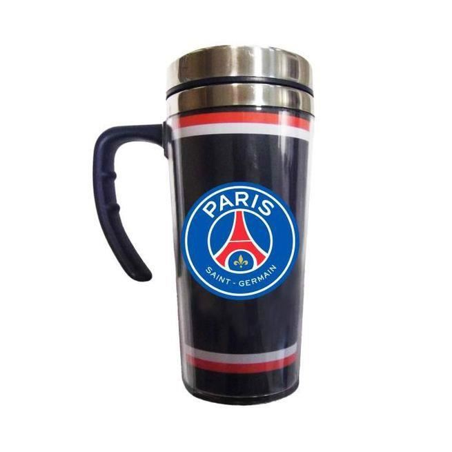 mug thermos en aluminium paris saint germain psg achat vente bol mug mazagran cdiscount. Black Bedroom Furniture Sets. Home Design Ideas