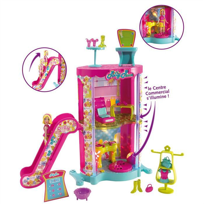 UNIVERS MINIATURE Polly Pocket Centre commercial