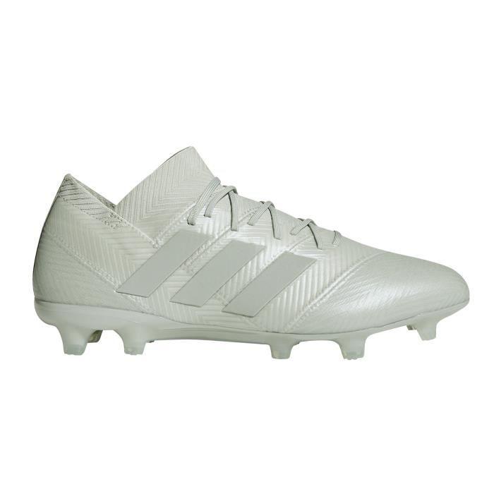 Chaussures football adidas Nemeziz 18.1 FG Gris - Cdiscount Sport