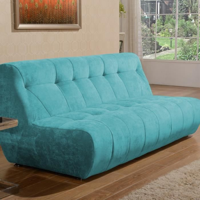 canap bleu turquoise dco salon canap velours bleu with. Black Bedroom Furniture Sets. Home Design Ideas