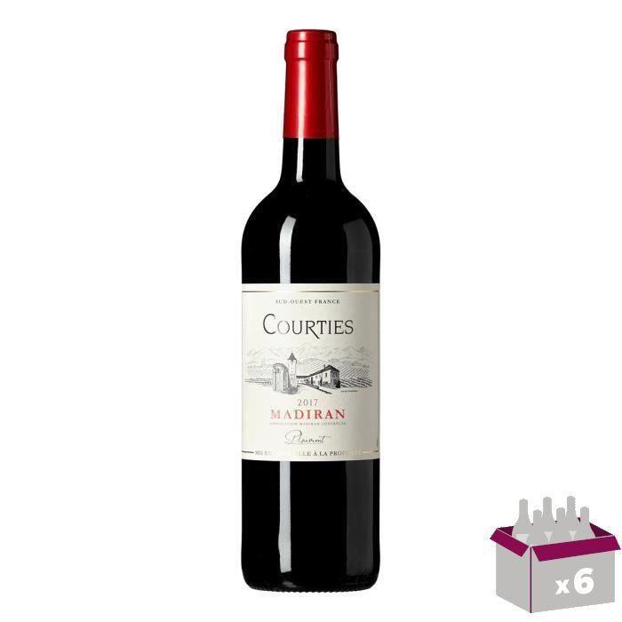 Courties 2015 Madiran - Vin rouge du Sud-Ouest x1