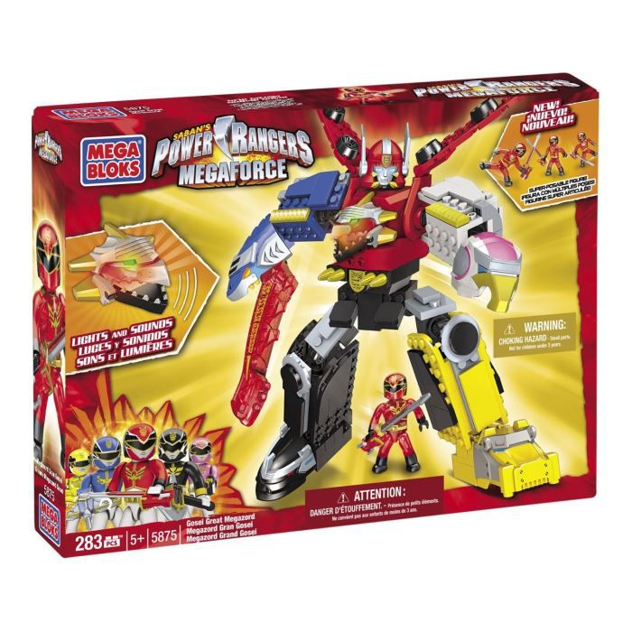 mega bloks power rangers mega force gosei meg achat vente assemblage construction cdiscount. Black Bedroom Furniture Sets. Home Design Ideas