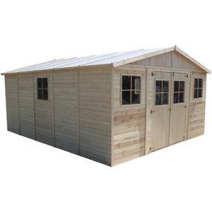 ABRI JARDIN - CHALET TIMBELA- ABRI de jardin en bois  M333- maison de j