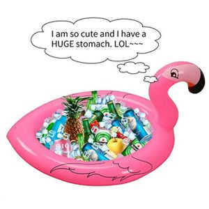 JEU D'ADRESSE Jeu D'Adresse US4K3 flamingo gonflable porte-boiss