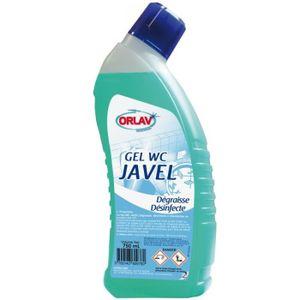 NETTOYAGE MULTI-USAGE GEL WC JAVEL désinfectant odorant 750ml