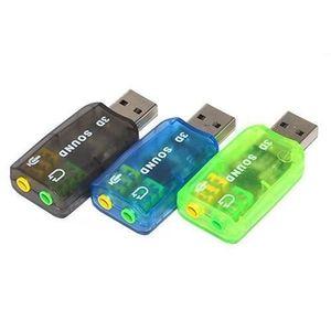 CARTE SON EXTERNE Adapteur Carte Son USB externe 2.0 ver 3D Virtuel