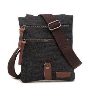 SACOCHE AUGUR Mode Vintage sacs militaires hommes Messenge