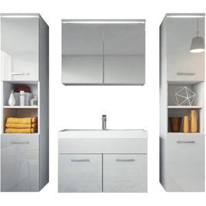 SALLE DE BAIN COMPLETE Meuble de salle de bain Paso XL - Armoire de range