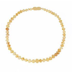 COLLIER AMBRE collier d ambre bebes(Butterscotch Raw)(33cm) - Fo