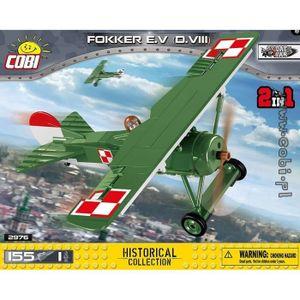 ASSEMBLAGE CONSTRUCTION Fokker E.V (D.VIII) Cobi