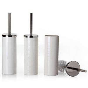 BROSSE WC Blanc brosse de toilette en céramique (A)