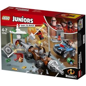 ASSEMBLAGE CONSTRUCTION LEGO® Juniors The Incredibles II 10760 Le Braquage