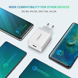CHARGEUR TÉLÉPHONE UGREEN Chargeur Huawei Supercharge 22,5W Supporte