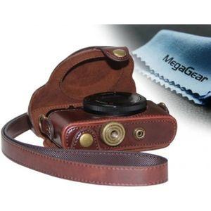 COQUE - HOUSSE - ÉTUI Etui de protection en cuir marron pour appareils p