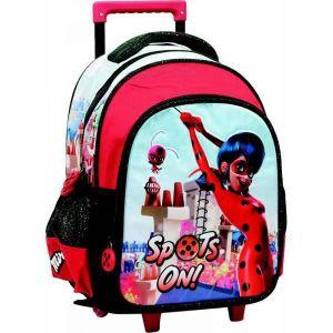 CARTABLE Petit trolley cartable miraculous ladybug sac a do