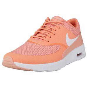 Nike Air Max Thea Premium Femme Baskets corail Corail