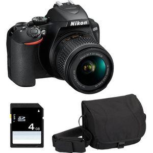 APPAREIL PHOTO RÉFLEX NIKON D3500 + AF-P DX NIKKOR 18-55mm 3.5-5.6G VR G