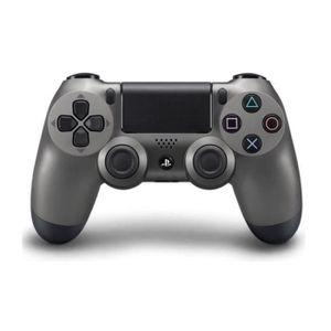 MANETTE JEUX VIDÉO Manette DualShock 4 Steel Black PS4+2 boutons THUM