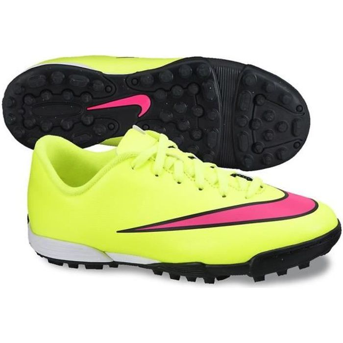 NIKE Chaussures de Football Mercurial Vortex II Terrain Stabilisé Turf Junior