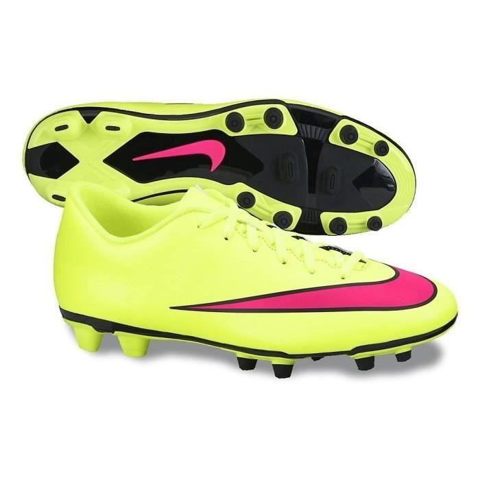 NIKE Chaussures de Football Mercurial Vortex 2 Terrain Sec FG Homme