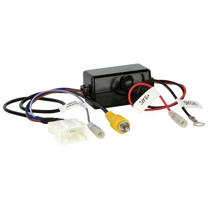Interface Caméra de recul Kia Carens