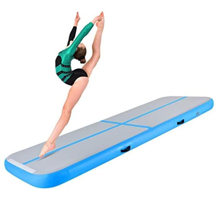 Housse Materiel WP6UK Air Track 3M 4M 5M 6M Inflatable Air Track Mat Gymnastics 2CM Thickness Gymnastics Mats without Pump for Gym/Y