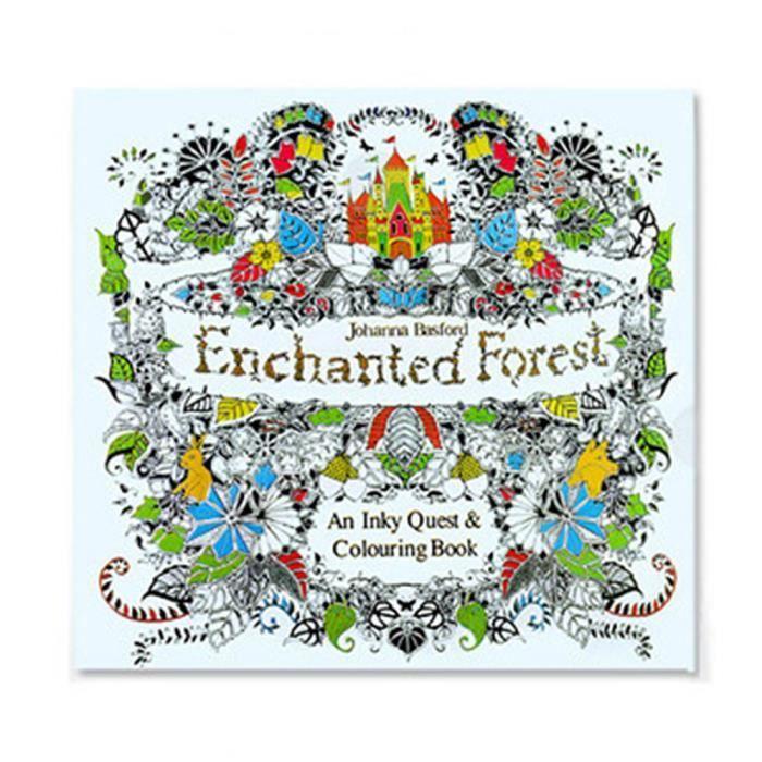 Cadeau de Noël Fun Adult Coloring Book Designs Stress Relief livre à colorier Multicolor-LZJ70620227