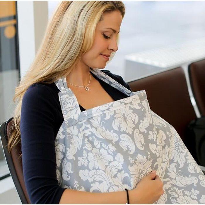Tablier Couverture d'Allaitement Bébé Cache Seins Coton Soins Infirmiers Maternité