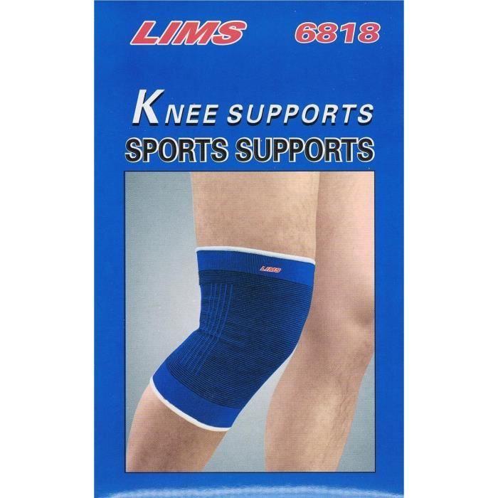 2 genouillères maintien protection des genoux attelles pour articulation musculation sport rééducation genou gauche et droit