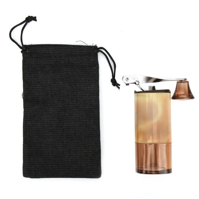 Machine de meulage manuelle compacte portable de moulin à café pour le voyage à domicile-GOL