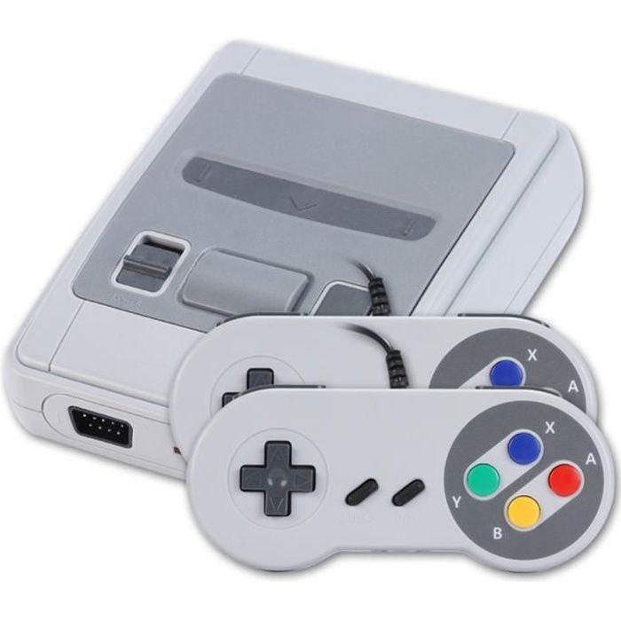 Console de jeux Console de jeux SFC Mini Nostalgic HDMI HD 621 jeux intégrés Règlements de l'UE