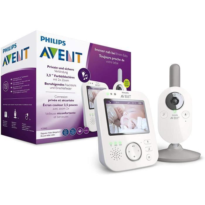 Philips AVENT SCD843-26 Teacuteleacutephones videacuteo Blanc