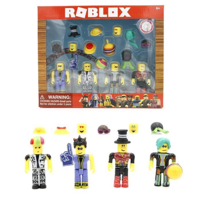 16 pcs / lot Monde Virtuel ROBLOX Disco Madness Mix Set 7 cm PVC Suite Modèle Figurines pour Collection Jouets Cadeau de vacances