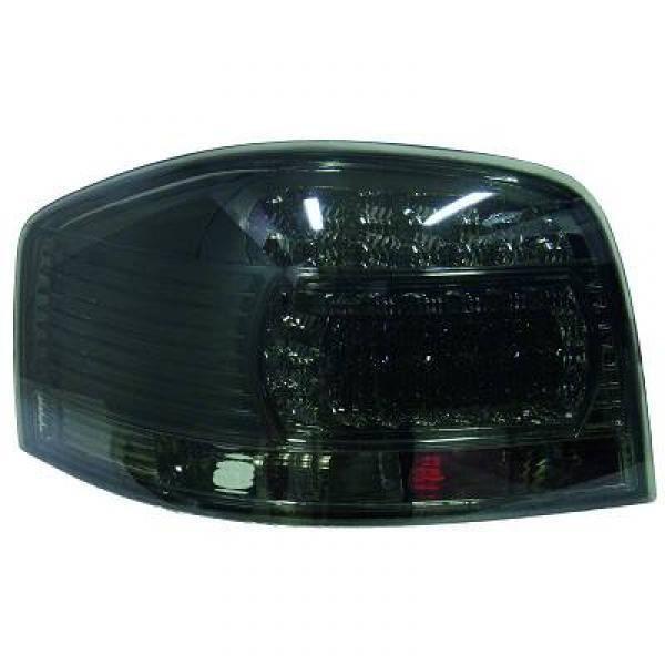 feux arrières design, noir, LED A3, 3-portes 03-08 avec LED pour: Audi A3 03-08