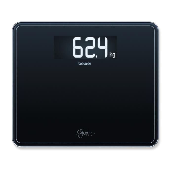 Beurer GS 410 Pèse-personne Signature Line - noir