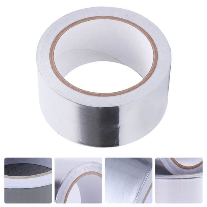 1 Roll Aluminum Foil Joint Sealing Tape Strong personnalisation vehicule - decoration vehicule confort conducteur passager