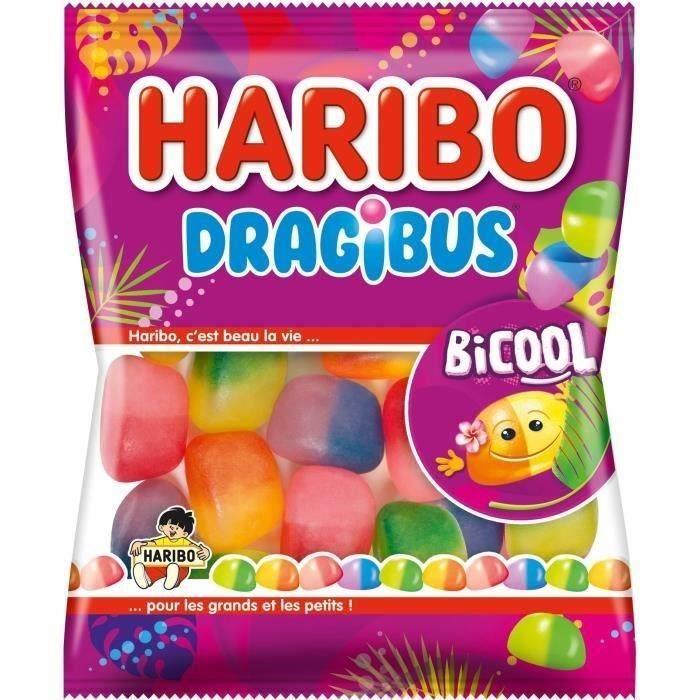HARIBO Bonbons Dragibus Bi Cool - 250 g