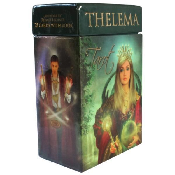 Thelema Tarot unique Multicolore