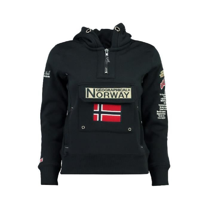 Sweat Femme Geographical Norway Gymclass New A Marine