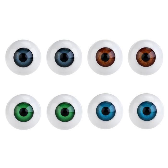 8 pièces globe oculaire creux horreur accessoires yeux jouets pour fête vacances Cosplay JEU PLAYSTATION 4