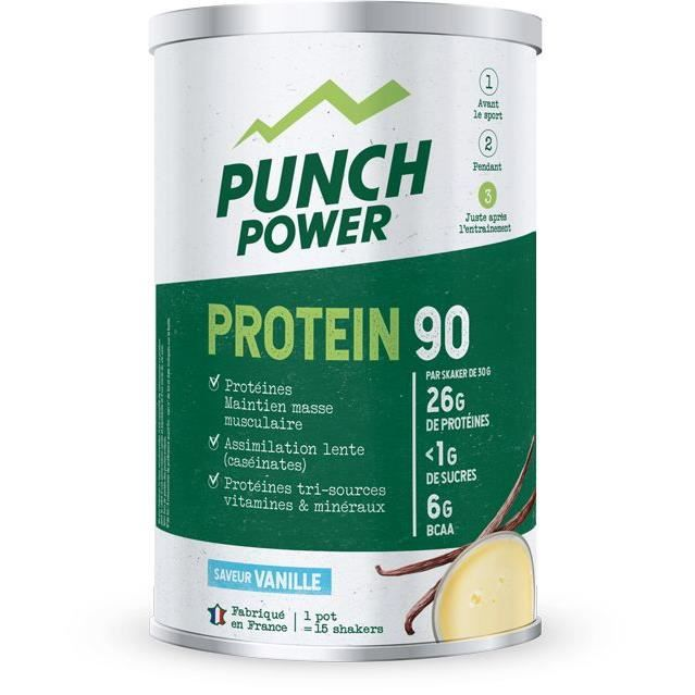 PUNCH POWER Protein 90 Vanille - Pot 450 g
