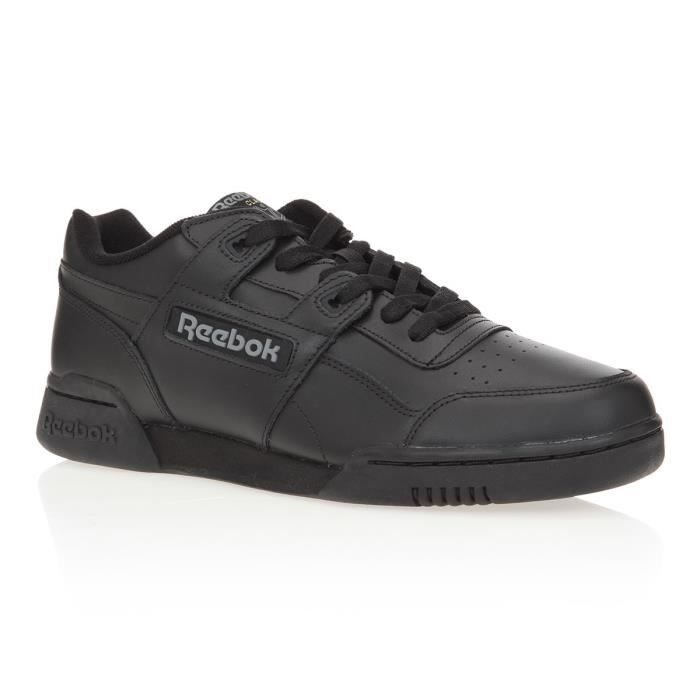 REEBOK Baskets Workout - Homme - Noir
