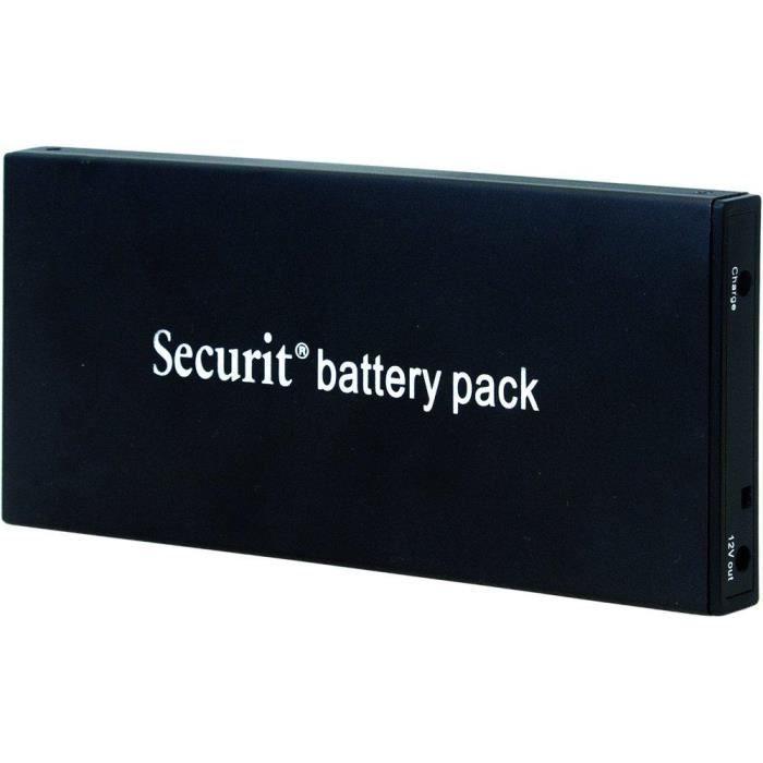 Batterie rechargeable Lithium Ion Autonomie de la batterie Pack: 10 heures.