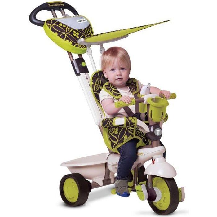 smarTrike Dream 4-en-1 bébé tricycle évolutif smart trike pour enfant 15+ Mois - Vert