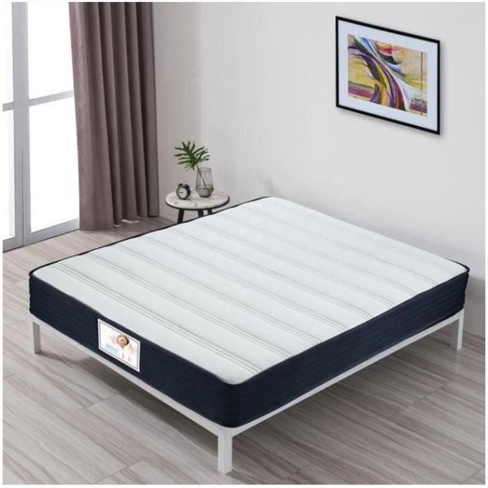 LUXE DESIGN Matelas 140x190 - Mousse à mémoire - 27 cm - 7 zones - Equilibré - Zones de confort