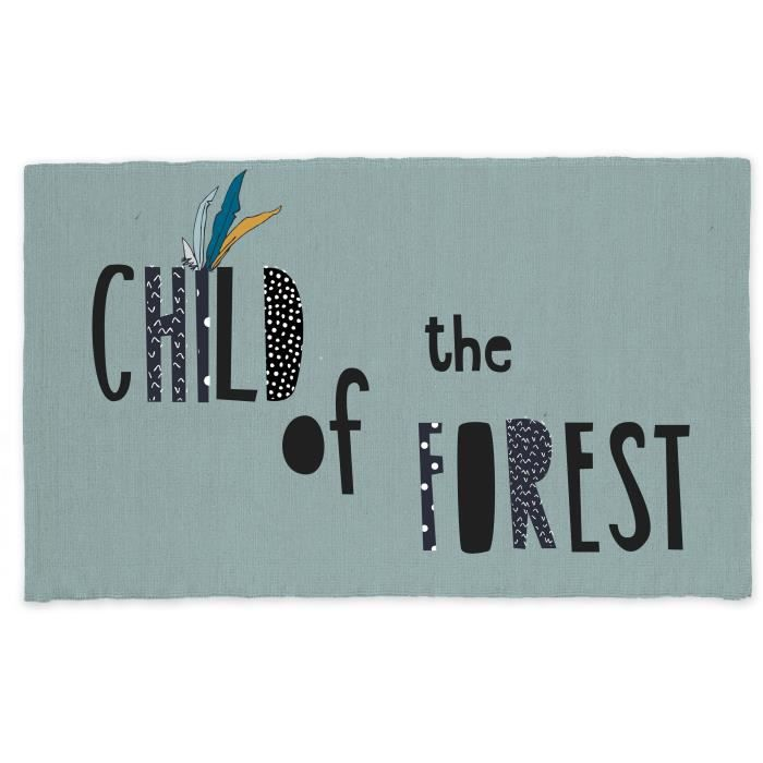TODAY Tapis Coton Forest - 60 x 120 cm