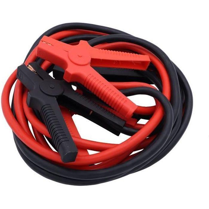 Câbles de Démarrage Aluminium/Cuivre 35mm2 - 4.5M - 550A TOPCAR